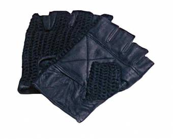Black Mesh Gloves