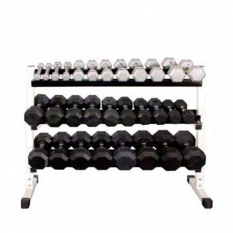 3 Tier 48″ Dumbbell Rack