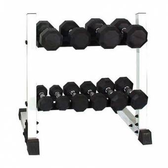2 Tier 24″ Dumbbell Rack