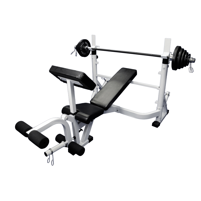 Olympic Combo Bench w/ Leg & Arm Extension