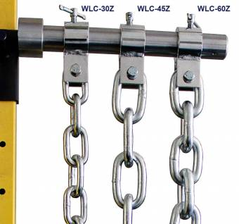 Zinc-Plated Weight Lifting Chains w/ Collar