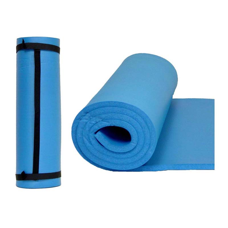 Yoga Mat W Carry Strap 24 X 72 X 3 8 Ader Fitness